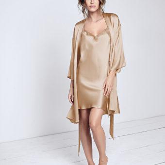 Seidennachtwäsche Pure Silk Gold von Triumph