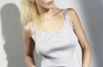 Seidenunterhemd Curacao silber von Gattina