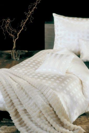 Seide Baumwolle Bettwäsche Karat von der Plauener Seidenweberei