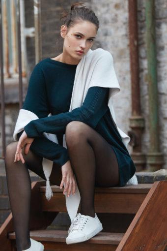 Wolle Kaschmir Pullover Mandy tanne von Suggest