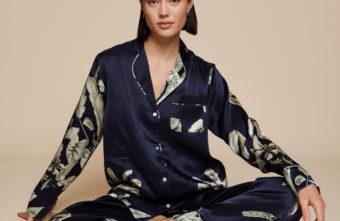 Klassischer Pyjama aus Seide von Radice