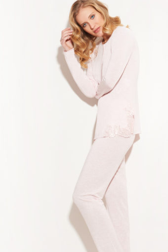 Modal-Schlafanzug in Rosa von Chiara Fiorini