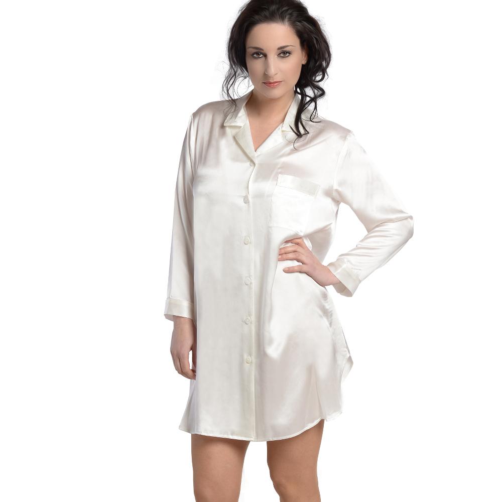 buy online 7b592 40033 Seiden - Nachtwäsche für Damen - Pyjama Seide und Nachthemd ...
