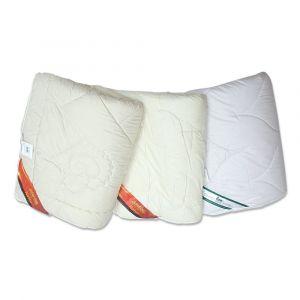 Vier-Jahreszeiten Bettdecke Schurwolle