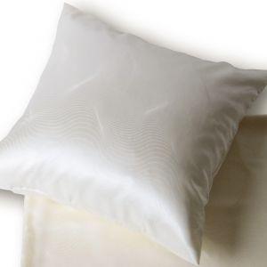 Seide Kissenbezug Alpha Natur B-Ware von der Plauener Seidenweberei