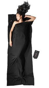 Travel Sheet Merino Wool schwarz von Cocoon®