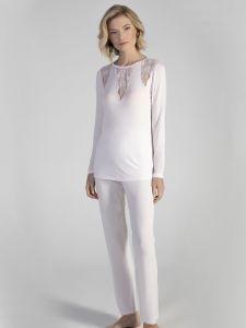 Modal Pyjama SNOW in weiss von Verdiani