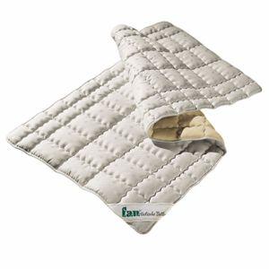 Schafwolle Unterbett Matratzenauflage Derby 40°C waschbar