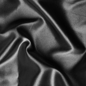 Schwarze Seidenbettwäsche Mauritius Schwarz von Cellini