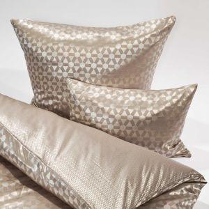 Seide-Baumwolle Kissenbezug Geo von der Plauener Seidenweberei - Bettdeckenbezüge nicht enthalten