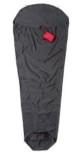 Expedition Liner Innenschlafsack 100% Seide Ripstop schwarz von Cocoon®