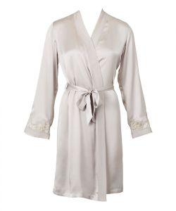 100% Seide Kimono Projection Privée lune von Aubade