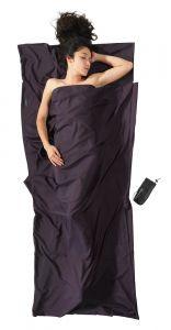 Travel Sheet Thermolite Silkweight in grau von Cocoon®