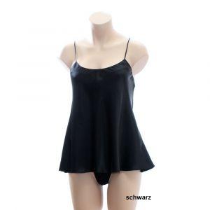 Seidentop New Design schwarz von Luna di Seta - Der String ist nicht im Lieferumfang enthalten