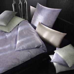 Seidenbettwäsche Vienne Paisley flieder, creme, mint oder silber-blau von Elegante
