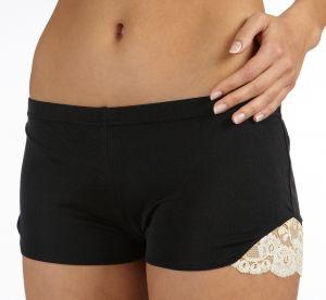 Shorts Tahiti schwarz-creme von Gattina