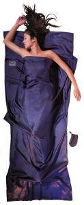 Travel Sheet Ripstop 100% Seide tuareg blau von Cocoon®