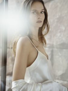 Seidentop Basic Seduction avorio elfenbein-weiß von Luna di Seta