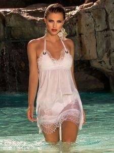 Strandkleid White Lace von Cotton Club Mare weiß