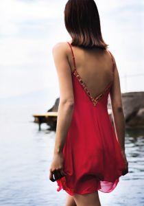 Strandkleid Capri Iconic von Luna di Seta