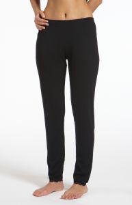 Lange Wolle-Seide Unterhose Boracay schwarz von Gattina Unterwäsche