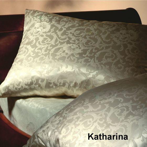 Seiden-Jacquard Katharina Champagner - auch als Spannlaken erhältlich