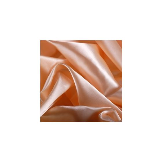 Apricotfarbene Seidenbettwäsche von Cellini Design