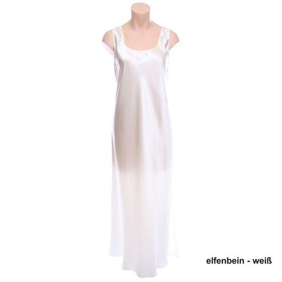 Seidenkleid Basic Glam elfenbein-weiß von Luna di Seta