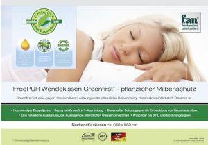 f.a.n. Frankenstolz Nackenkissen Greenfirst FreePUR Wendekissen