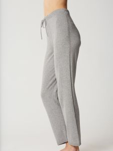 Kaschmir Seide Hose Softwear grau von Maison Lejaby