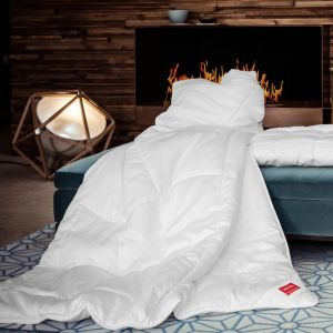Lyocell mittelwarme Bettdecke KlimaControl Comfort GD von Hefel - das Kissen ist nicht im Lieferumfang enthalten