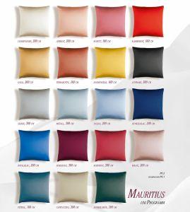 Farben der Cellini Mauritius Seidenkollektion