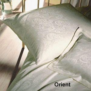 Seiden-Jacquard Orient Champagner - auch als Betttuch erhältlich