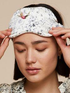 100% Seide Schlafbrille September Eye Mask von Radice
