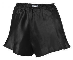 Shorts Seide Satin schwarz von Gattina Dessous