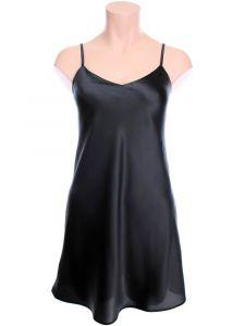 Seide Unterkleid Intensa schwarz von Cotton Club