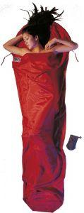 Seide Baumwolle Mummy Liner Silk Cotton monk´s red von Cocoon®
