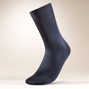 100% Seide Socken für  Herren von Zimmerli of Switzerland schwarz