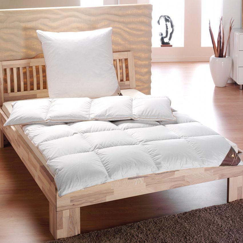 h ussling winter daunendecke 4x6 warm golden edition 135x200 90 nordische daune ebay. Black Bedroom Furniture Sets. Home Design Ideas