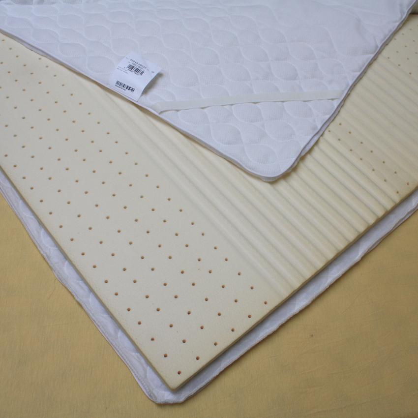 f a n latex matratzenauflage 7 zonen topper 3 cm sehr weich reduziert ebay. Black Bedroom Furniture Sets. Home Design Ideas
