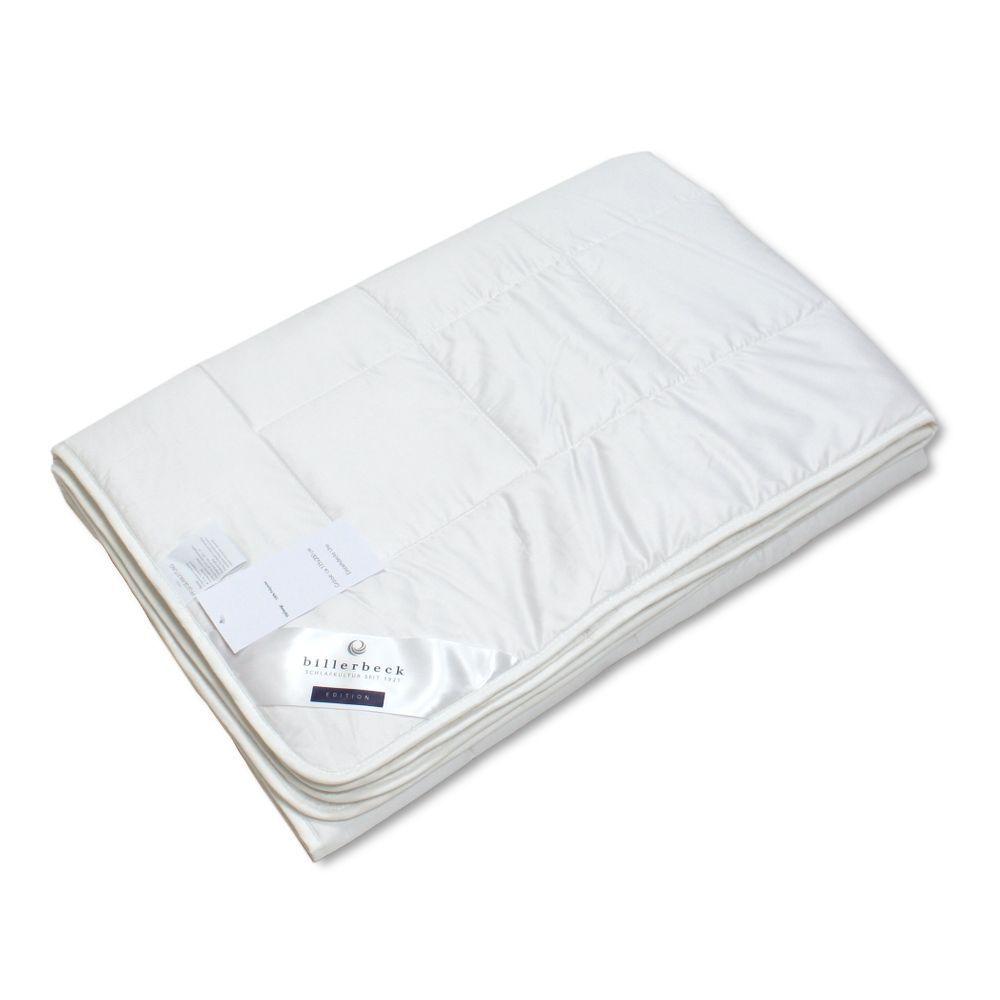 neu bettdecke 155x220 cm baumwolle faser uno mittelwarm billerbeck 60 w sche ebay. Black Bedroom Furniture Sets. Home Design Ideas