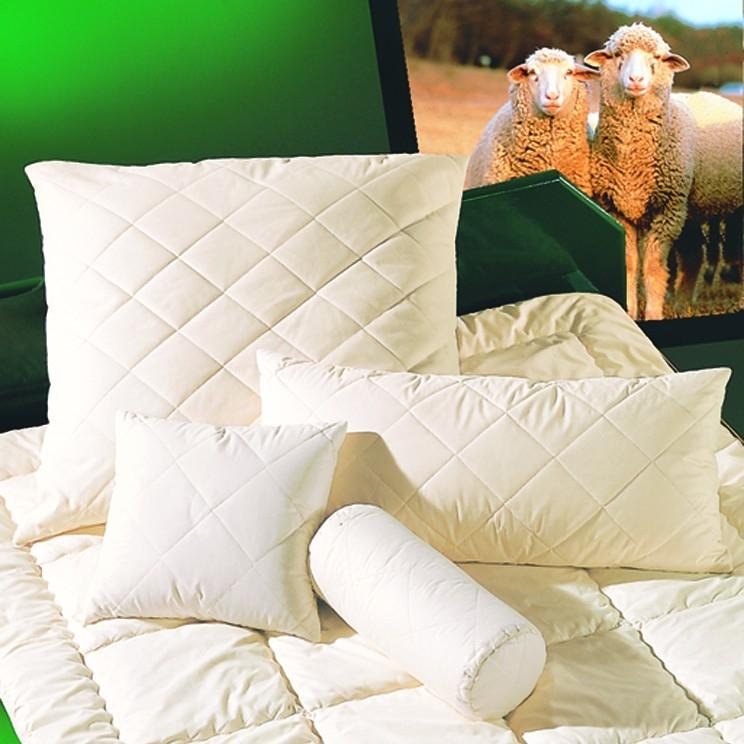brinkhaus 100 schurwolle kopfkissen exquisit satin wolle k gelchen neu ebay. Black Bedroom Furniture Sets. Home Design Ideas